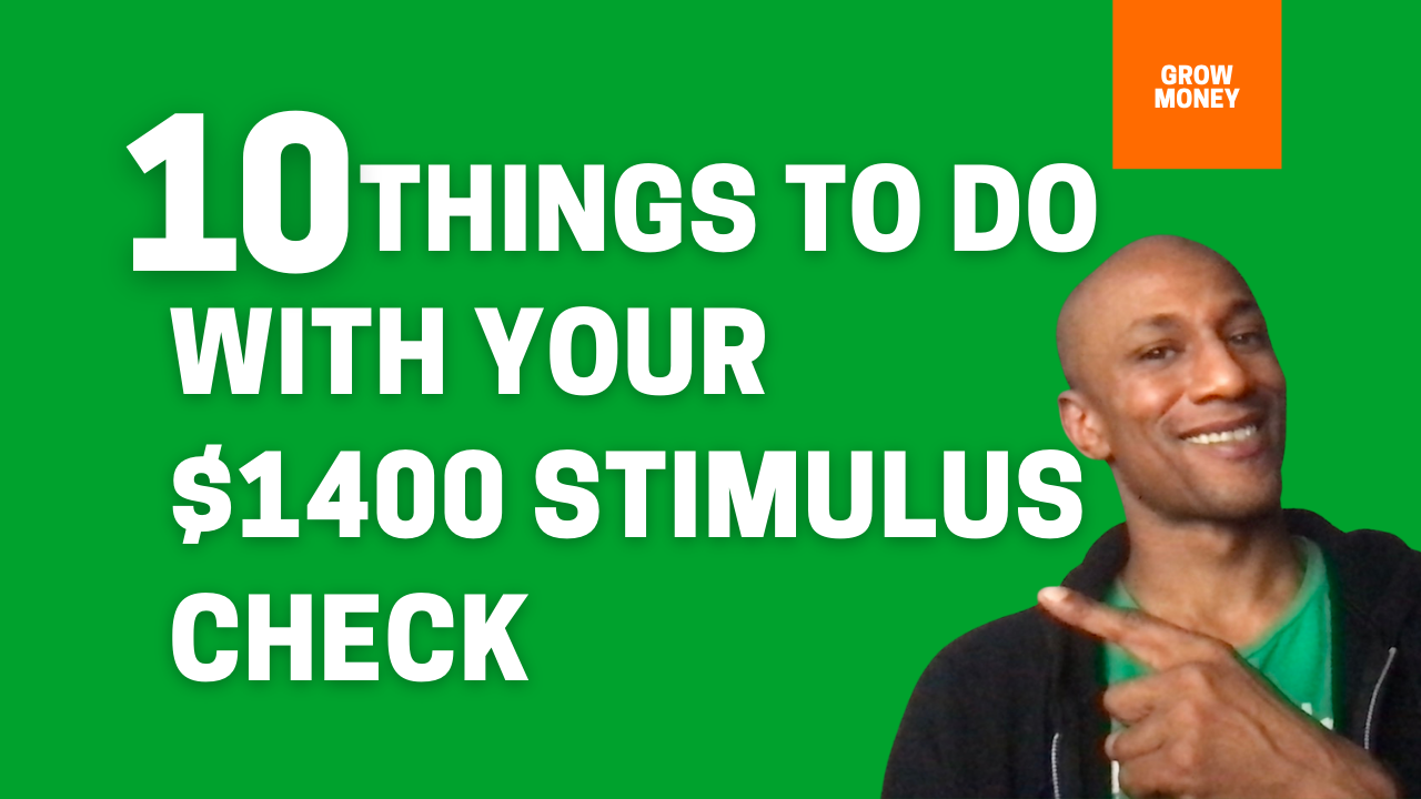 What to do with stimulus check (1)